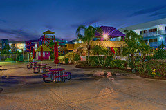 Flamingo Waterpark Resort, 2261 E Irlo Bronson Memorial Hwy, Kissimmee, Florida, USA / Built: 1972 / Floors: 3 (Photographer South Florida) Tags: flamingowaterparkresort 2261eirlobronsonmemorialhwy kissimmee florida usa built1972 floors3 orlando cityscape city urban downtown density skyline skyscraper building highrise architecture centralbusinessdistrict cosmopolitan metropolis metropolitan metro commercialproperty sunshinestate realestate orangecounty centralflorida thecitybeautiful commercialoffice museums lakeeolapark lakelucerne