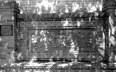 1887 Court House Relief (B&W) (Neal3K) Tags: americus bw blackandwhite fppc41kit ga georgia homedeveloping kodakektar100 nikkorc35mmf25lens nikons335mmfilmcamera