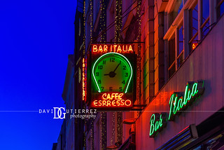 Bar Italia - Soho, London, UK