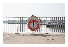 Life Saver (Number Johnny 5) Tags: lines 50mm d750 nikon pier space orange new shadows imanoot angles nifty circles topographics shapes johnpettigrew documenting fifty seaside