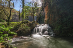 Baño de Diana. (Amparo Hervella) Tags: monasteriodepiedra zaragoza españa spain naturaleza largaexposición d7000 nikon nikond7000 paisaje