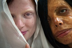 Skin project (silvia.alessi) Tags: fighters survivors society photojournalism contrast strong eyes violence capture portrait face project people girls albino albinism asi delhi india ngc acidattacked women skin skinproject