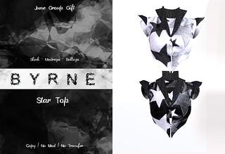 (BYRNE) StarTop-JUNEGROUPGIFT