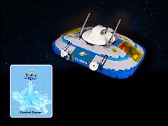 control center (chris office) Tags: classicspace lego moc