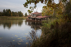 Rock the Boat (Dennis van Dijk) Tags: abandoned forgotten decay derelict europe eu ue urban exploration art lost found moody beauty precious stairs rust dust explorer music piano player man pianoman maestro grand ukraine ussr cccp soviet union collapse meltdown melt down nuclear disaster evacuation chernobyl exclusion zone pripyat history living past never forget again ghost town boat water house autumn colors