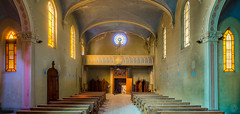 Blue Chapel (Emeuh-Bru) Tags: bluechapel urbex urbanexploration explorationurbaine abandonné abandoned lost église church italia italie nikond7200
