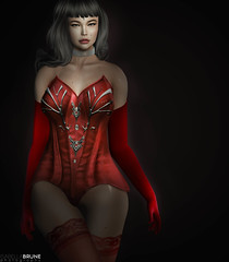 Using your eyes now (Undress me now, you know how) Using your mind...♫ (Isabella_Brune) Tags: unitedcolors exile dead dollz empyreanforge lelutka
