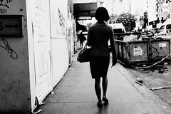 Urban Jungle (McLovin 2.0) Tags: candid people street streetphotography bokeh monochrome bw blackandwhite city melbourne australia sony rx1 style