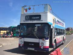 BARRY FESTIVAL OF TRANSPORT SWANSEA BUS MUSEUM BRISTOL VR MOD 571P EX FIRST DEVON GENERAL PROVINCIAL BARRY ISLAND 10062018 (MATT WILLIS VIDEO PRODUCTIONS) Tags: barry festival of transport swansea bus museum bristol vr mod 571p ex first devon general provincial island 10062018