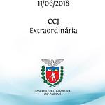 CCJ Extraordinária 11/06/2018