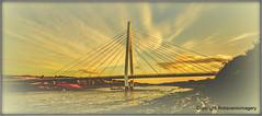 Spire Bridge......Sunset (c) (Tontoe1963) Tags: robscenicimagery spire sunderland wearside bridge rivers