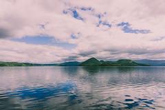 Lake Toya in Abuta, Hokkaido, Japan