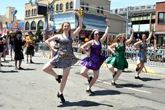 dance (greenelent) Tags: mermaidparade coneyisland coneyislandmermaidparade parade mermaid people streets festival brooklyn nyc 365 photoaday dance women