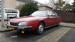 Citroën CX 2.0 Pallas (sjoerd.wijsman) Tags: zuidholland holanda olanda holland niederlande nederland thenetherlands netherlands paysbas carspot carspotting cars car voiture fahrzeug auto autos citroëncx citroën cx citroëncxberline cxberline 49sfjt sidecode6 import redcars red rouge rot pijnacker 16032018