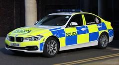 LJ16 BAV (Ben Hopson) Tags: northumbria police bmw 330d saloon traffic car motor patrols 999 newcastle city centre st james park magic rugby weekend 2018 2016 lj16 bav lj16bav