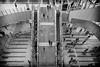 Flow (tomorca) Tags: city people osaka escalator overlook monochrome blackandwhite fujifilm xt2