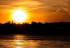 Orange (Karen_Chappell) Tags: orange sun sunset travel ottawa river nature water ontario canada evening silhouette black scenery scenic landscape sky clouds ottawariver