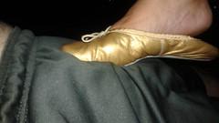 Gigi (2635) (Duke of Slippers) Tags: ballet slippers shoes flats pumps footwear fetish scarpe ballerines ballerinas pantoufles pantofole chaussures souliers