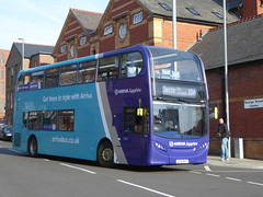 Arriva North West 4645 CX15 BXY on 10, George St, Chester (sambuses) Tags: arrivanorthwest sapphire 4645 cx15bxy