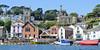 Fowey (R~P~M) Tags: fowey cornwall kernow england uk unitedkingdom greatbritain harbour quay seafront church stfinbarrus placehouse treffry