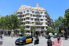 IMG_9448 La Pedrera (Casa Milà) (drayy) Tags: spain barcelona gaudi house apartment apartments building architecture lapedrera casamilà casamila antonigaudí gaudí