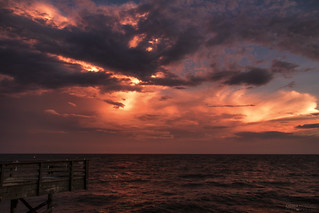 Sunset from the Pier - Myrtle Beach (South Carolina)