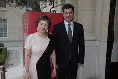 OECD Week 2018: Arrivals (Organisation for Economic Co-operation and Develop) Tags: 2018 oecd ocde oecdweek semainedelocde ariivals chateau muette arrivals josže touchette executive director manuel caldeira cabral minister economy portugalparisfrancefrajosée portugal