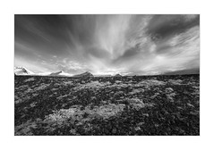Between Heaven And Earth (W.Utsch) Tags: iceland infrared sky earth