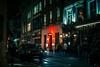 H I X . B O S O N (Panda1339) Tags: thegreat50mmproject 50mm nightphotography nightmode london ldn streetphotography soho uk cinematic flare