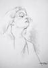 P1018253 (Gasheh) Tags: art painting drawing sketch portrait girl line pen pastel gasheh 2018