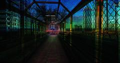 safe zone... (prole pinion) Tags: secondlife surreal futurist scifi fantasy layers layering photoshop light color