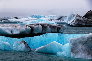 Pourquoi certains icebergs sont-ils bleus ?  // why are some icebergs blue?