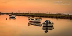 Morston sunset 18.5.18 (viewfinder.general) Tags: thornham fullmoon hightide
