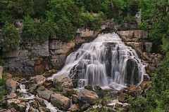 Inglis Falls - 3063 (RG Rutkay) Tags: tdpc nature niagaraescarpment waterfall owensound landscape inglisfalls inglisfallsconservationarea sydenhamriver