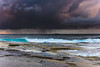 Storm at Sea (Merrillie) Tags: daybreak theskillion nature water terrigal nsw rocky sea clouds newsouthwales rocks earlymorning morning landscape centralcoast ocean australia sunrise waterscape coastal outdoors sky seascape dawn coast cloudy waves