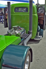 49 Ford COE (racerx6948) Tags: pentax pentaxk5iis sigma sigma28mmminiwide arlingtonwa streetmachines street streetrod custom hotrods carshow ford 1949 coe