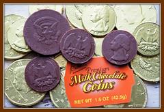Macro Monday - Candy (Eclectic Jack) Tags: macromonday candy mondays macro food chocolate coins coin money premium hmm orange