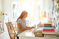 Grace + Fire Author (graceandfire) Tags: wirelesstechnology realpeople candid computer workingmother businesswoman onlywomen maturewomen women females comfortable domesticlife lensflare email 3539years matureadult midadult adult sitting looking working workingathome oneperson smallbusiness business technology lifestyles indoors sideview pregnant businessperson occupation mother parent people lightnaturalphenomenon homeoffice homeinterior office placeofwork internet laptop desk table chair blog socialnetworking entrepreneur