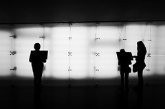 I x x II (stefankamert) Tags: stefankamert silhouette people light mood noir noiretblanc blackandwhite blackwhite ricoh gr grii x read indoor