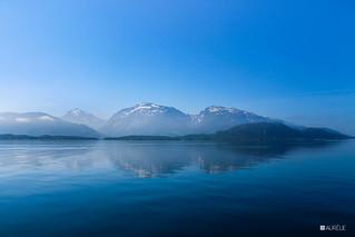 Reflet dans les fjords