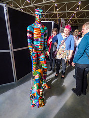 I'll Show You How to Walk the Dog (Steve Taylor (Photography)) Tags: rollingstones walkingthedog wigram dog art mannequin sculpture museum colourful tag vivid people women ladies man newzealand nz southisland canterbury christchurch lines