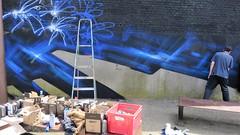 STS Stanz / Kerkstraat - 12 mei 2018 (Ferdinand 'Ferre' Feys) Tags: gent ghent gand belgium belgique belgië streetart artdelarue graffitiart graffiti graff urbanart urbanarte arteurbano ferdinandfeys jasta jastacrew sts