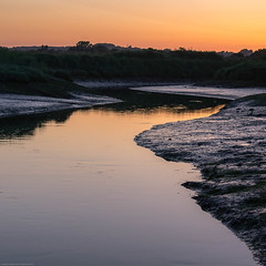IMG_9065-HDR-Edit.jpg (JonnyONeil) Tags: landscape sunset kitlens canon evening orange red hdr summer sshaped hoya yellow uk redsky iso200 reflection photoshop efs sea manfrotto beach 1855mm f80 outdoors water tripod hampshire sky havant polariser seaside lightroom 1200d