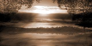 Paesaggio Ibleo al tramonto-1