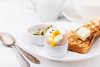 Soft boiled egg for breakfast (ksenee) Tags: egg eggs yolk toast breakfast white healthymeal healthyeating cleaneating diet radishsprouts sprout softboiled soft morning rich richbreakfast spoon healthy fresh bread boiled nutrition health food eating nourishment meal butter plate nobody ham eggshell snack broken protein cracked