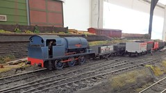Colliery loco (Phil_Parker) Tags: modelrailway train
