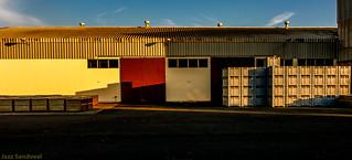 Geometría Industrial. 01. Arrecife, Lanzarote, abril 2007.