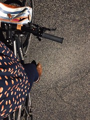 166/365 (moke076) Tags: 2018 365 project 365project project365 oneaday photoaday iphone cell cellphone mobile self portrait me selfie bike bicycle novara party clothing dressed up sevillasmith booties boots shoes handmade bespoke