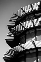 Levels (#Sasha) Tags: architecture canada bridges bc victoria white monochrome fuji black