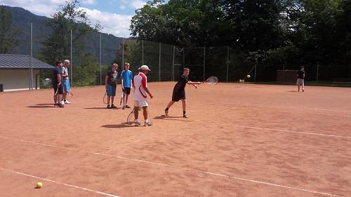 Sportprogramm Tag 1 - Tennis